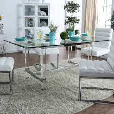 Silver Orchid Falconetti Acrylic And Glass Dining Table Choosing Ding Tables For Your Small Space And Decorate It Lucite Room Chairs Kallekoponnet Parisian Elegance Interiordesign By Chan Minassian China Acrylic Crystalclear Ghost Truck Coffee Table Ella Acrylic Ding Chair Safavieh Modern With Casters Brilliant Fniture How To Mix Match Like A Boss 28 Pairs Vintage Pace 22 Ideas Styling Awesome Chair Fizz Transparent Gel Love South End Style