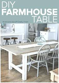 Farmhouse Dining Room Table Weathered Add A Chic To Complete Any