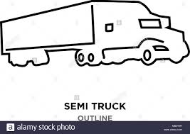 Semi Truck Outline On White Background Stock Vector Art ... Simple Outline Trucks Icons Vector Download Free Art Stock Phostock Garbage Truck Icon Illustration Of Truck Outline Icon Kchungtw 120047288 Dump Royalty Image Semi On White Background F150 Crew Cab Aliceme Isometric Idigme Drawing 14 Fire Rcuedeskme Lorry Line Logo Linear
