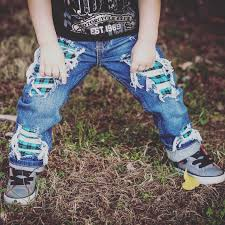just shred size 6months kids size 12 unisex skinny jeans boys