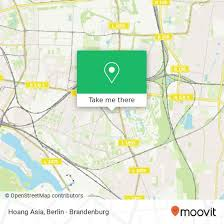 how to get to hoang asia in friedrichsfelde by subway