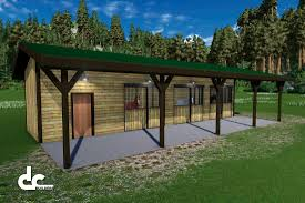 Shed Row Barns For Horses by Shed Row Barn 48 U0027 Shed Row Horse Barn Floor Plans Dc Building