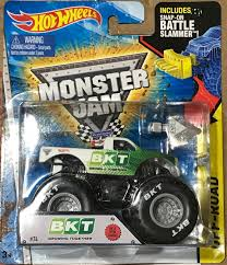 RARE HOT WHEELS 1/64 Monster Jam Truck BKT Tires Promotion Battle ... Hot Wheels Monster Jam 2017 Release 310 Team Flag Madusa Silver List Of Wheels Trucks Wiki Pin By Linda Loyd On Pinterest Jam Cars Color Shifters And Changers Truck White 164 Toy Car Die Cast And Spanengrish Ramblings Pink Nongirl Toys In Boy Franchises Julians Blog 2016 Special Toys Buy Online From Fishpondcomau Amazoncom Tour Favorites With Pictures Free Printables Acvities For Kids Wcw Ebay Find The Day Worldwide Hw Bidwinit09com Classic Colections