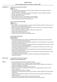Agile Scrum Master Resume Samples | Velvet Jobs Computer Science Resume 2019 Guide Examples Senior Scrum Master Samples Velvet Jobs Special Education Teacher Example Preschool Sample Monstercom And Full Writing 20 Biochemist For Masters Degree Seven Advantages Of Grad Katela Cover Letter Resume Home Health Aide Valid Or How To