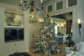 75 Flocked Christmas Tree by White Flocked Christmas Tree Decorating Ideas Traditional