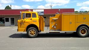 100 Ford Fire Truck 1984 C800 Truck YouTube