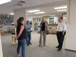 site visit advocacy hears about barriers to growth at light bulbs