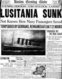 the sinking of the lusitania with image lukearenas storify