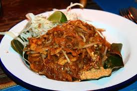 Chef Nuit Pad Thai $14 fried rice noodles home made tamarind