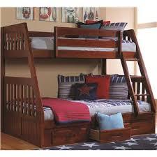 merlot twin over twin bunk bed walker s furniture bunk beds