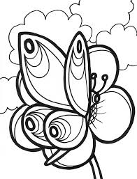 Beautiful Butterfly Template Download