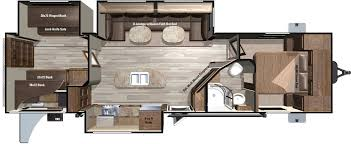 Fifth Wheel Campers With Front Living Rooms by 2018 Light Travel Trailers Lt308bhs By Highland Ridge Rv