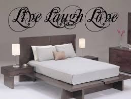 Live Laugh Love Wall Decal Vinyl Sticker Cursive Quote Art Living Room Dining Decor Mothers