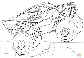 100 Monster Truck Batman Download Coloring Pages Iron Man Page Free