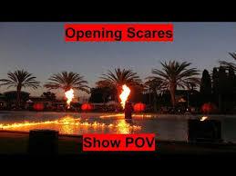 Californias Great America Halloween Haunt by Opening Scares 2017 Hd Pov Entertainment Halloween Haunt