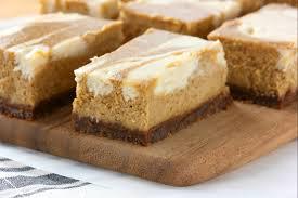 Pumpkin Layer Cheesecake by Swirled Pumpkin Pie Cheesecake Bars With Gingersnap Crust A