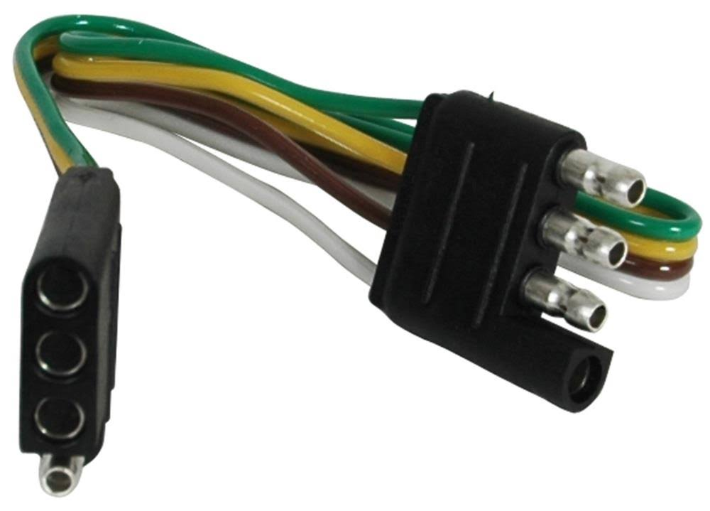 Reese Towpower 4-Flat Loop Trailer Wiring Extension 74687