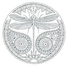 Dragonfly Coloring Page Here Are Pages Cute Dragon Fly To Print P