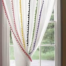 french tassel window panels children s room pinterest window