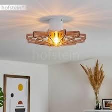 deckenlichter leuchten mit 1 3 lichtern aus holz fürs