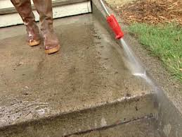Patio Floor Ideas On A Budget by How To Patch And Resurface Concrete Steps How Tos Diy