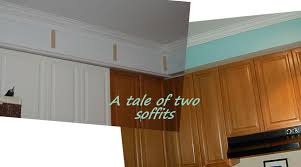 Kitchen Soffit Trim Ideas by Baltic To Boardwalk Tiny Trim Makes A Kitchen Soffit Look Good