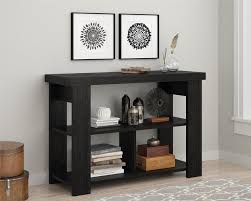 Pier One Sofa Table by Ameriwood Furniture Hollow Core Sofa Table Black Ebony Ash