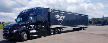 100 Wilson Trucking Company R E West Transportation