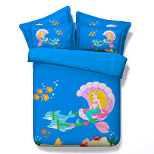 popular mermaid bed set buy cheap mermaid bed set lots from china