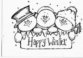 Snowman Family Coloring Pages Snowmen Free Printable Is It For
