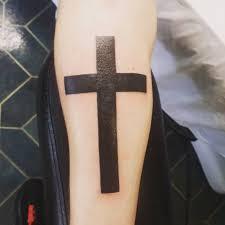 25 Tribal Cross Tattoo Designs Ideas