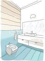 luxus badezimmer interieur clipart bilder vektor