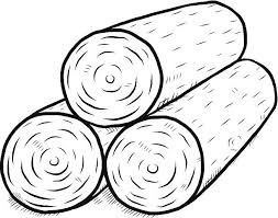 Timber Clipart Wooden Log 3