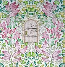 Johanna Basford Secret Garden Enchanted Forest Colouring In Adults Inky Treasures