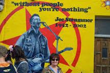 Joe Strummer Mural East Village by Joe Strummer Mural New York City Wall Murals