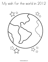 Full Size Of Coloring Pageworld Page Earth Globe World My Wish