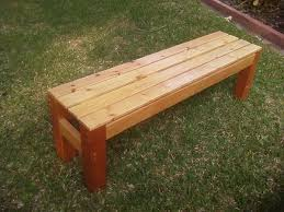 Diy Making A Simple Wooden Bench Treenovation With Wood Benches