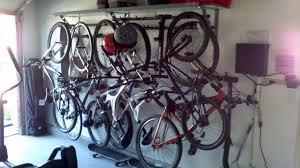 Ceiling Bike Rack For Garage by Garage Design Ripe Bike Storage Garage Bike Rack Garage