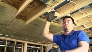 Soundproof Above Drop Ceiling by Insulating U0026 Soundproofing Around Pot Lights Or Recessed Lighting