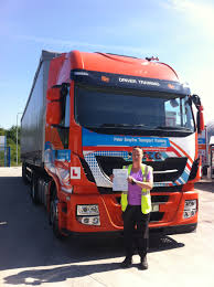 Donna Ford From Huthwaite Passed HGV Cat C+E - Peter Smythe ...