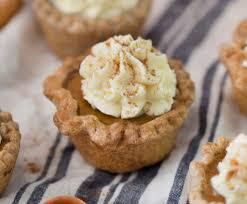 Pumpkin Pie Blizzard Calories Mini by Mini Pumpkin Pies Preppy Kitchen