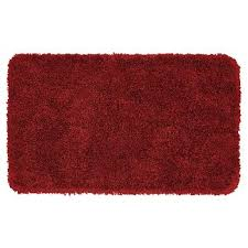 bright red bath rugs target