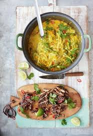 cuisine oliver chicken laksa recipe laksa chicken and oliver
