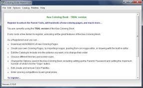 Kea Coloring Book Software Download Idg Downloads