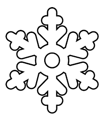 Snowflake Coloring Pages Wecoloringpage Picture