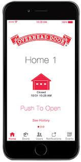 OHD Anywhere Garage Door Opener App