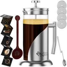 Though Not Our Top Choice The Kitchen Supreme French Press Coffee Tea Maker Is A Very Close Second It Also Contains Some Unique Features Which Make