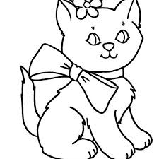 Kitty Cat Coloring Pages Awesome 23 On For Adults