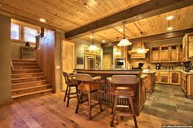Mountain Home Interior Designed In Rustic Style With Solid Wood Stone Thematic Accessories And Accents Gives The A Timeless Value