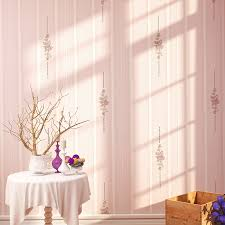 Korean Style Wallpaper For Bedroom Walls Pastoral Roll Romantic Rustic Floral Wallpapers Non Woven Stripe In From Home